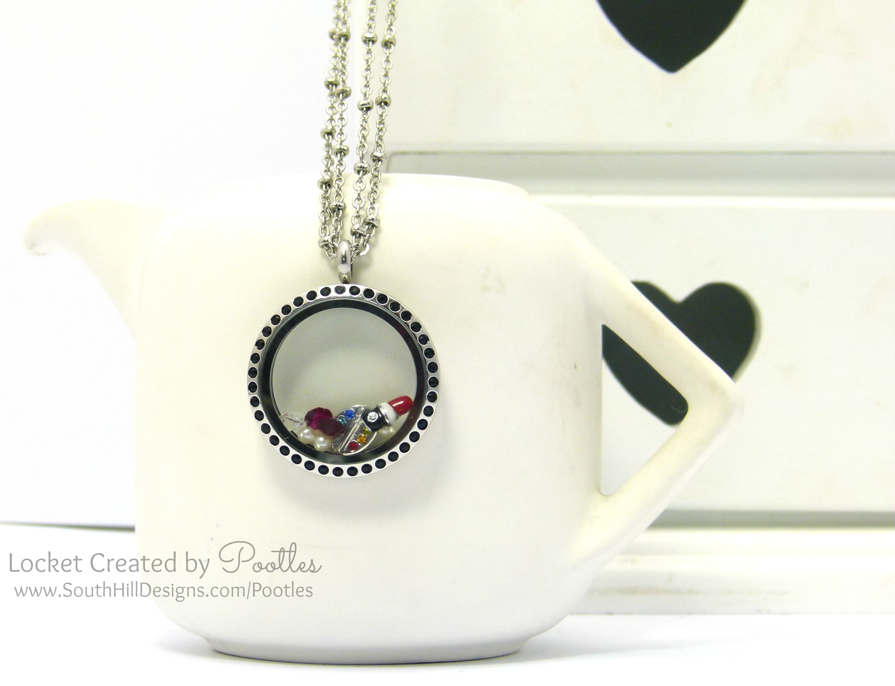 Makeup Artist's Locket From