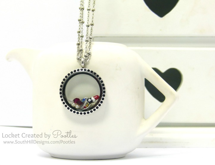 Makeup Artist's Locket from South Hill Designs Pootles