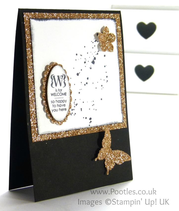 South Hill and Stampin' Up! Sunday My Week in a Locket May 25th 2014 Card Project