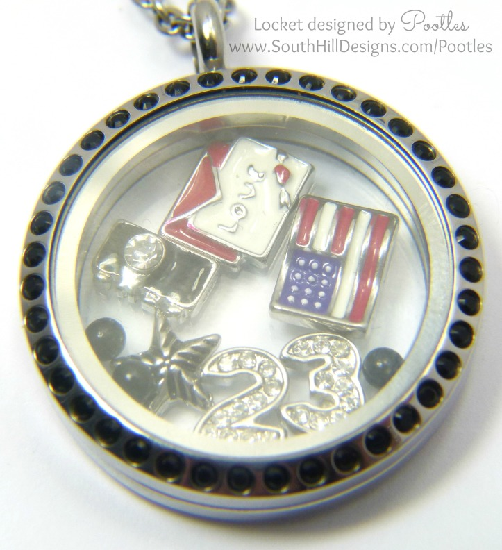 South Hill and Stampin' Up! Sunday My Week in a Locket May 25th 2014 Close Up