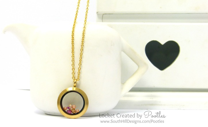 South Hill Designs Locket using Ice Cream Cone.