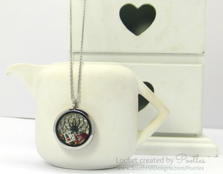 South Hill Designs UK - A Love of Chocolate. And Red... (locket hanging)