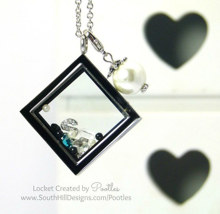 South Hill Designs UK - Diamond Locket With Full on Sparkle!