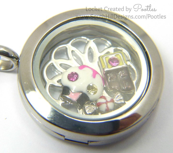 South Hill Designs Yummy Foodie Locket Close Up