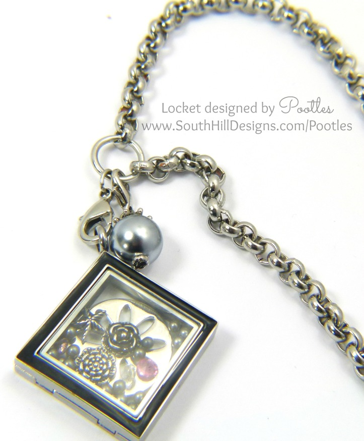 South Hill and Stampin' Up! Sunday Locket and Chain