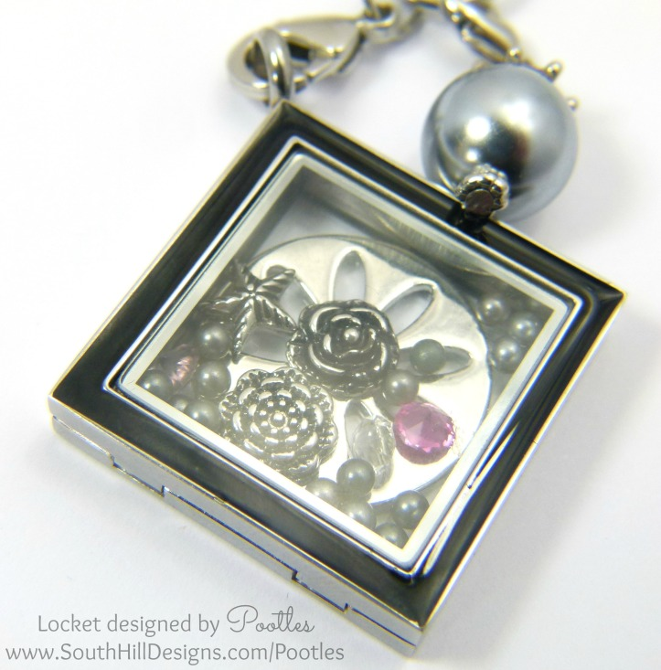 South Hill and Stampin' Up! Sunday Locket Close Up