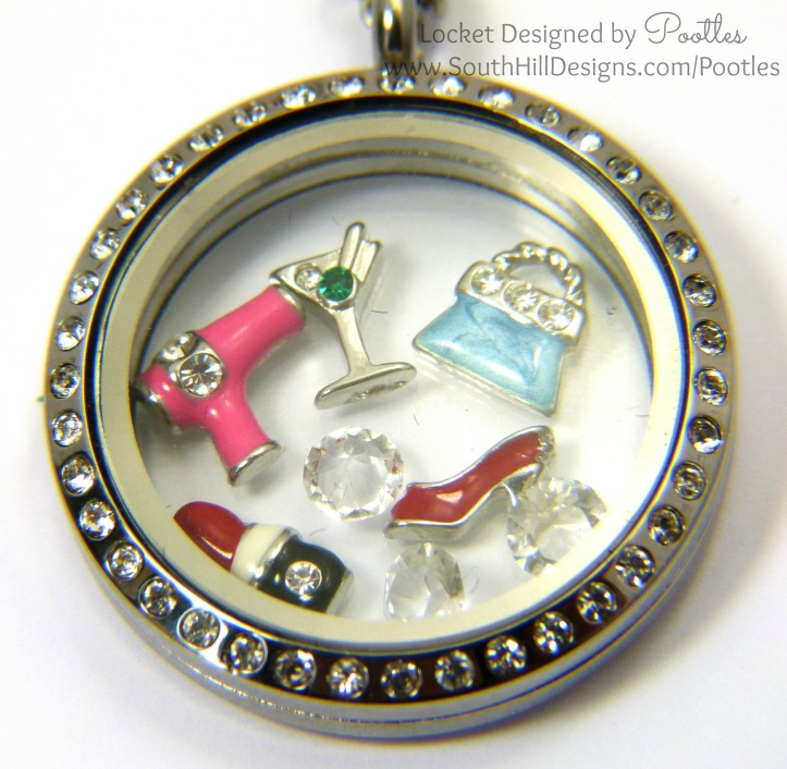 South Hill Designs - A Girl's Night Out Close Up