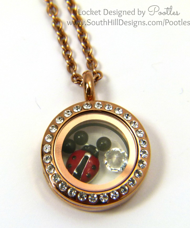 South Hill Designs - Ladybird or Ladybug. It's cute whatever you call it! Close up detail
