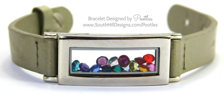 South Hill Designs UK - A Locket Bracelet of Rainbows