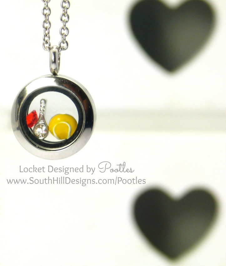 South Hill Designs - Wimbledon Locket