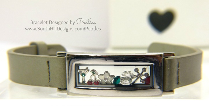 Pootles South Hill Designs - Cocktail Cherries Bracelet
