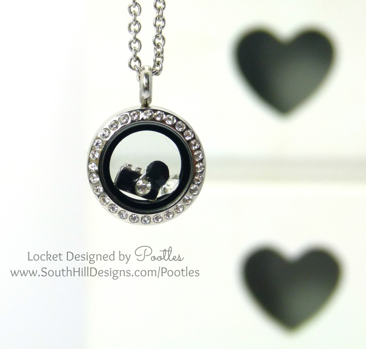 Pootles South Hill Designs - Mini Silver Crystals and Cameras