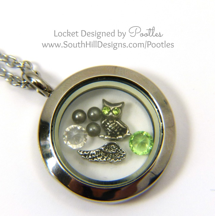 Pootles South Hill Designs - Owl and Nature close up