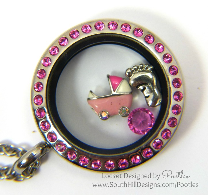 South Hill Designs - Baby Pinks for a new Baby close up