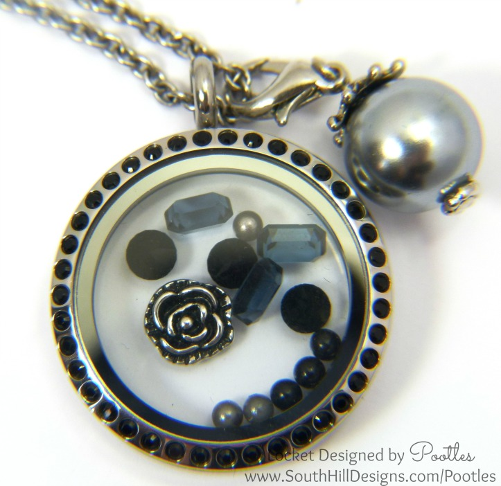 South Hill Designs - Black and Silver and a smattering of Pewter close up