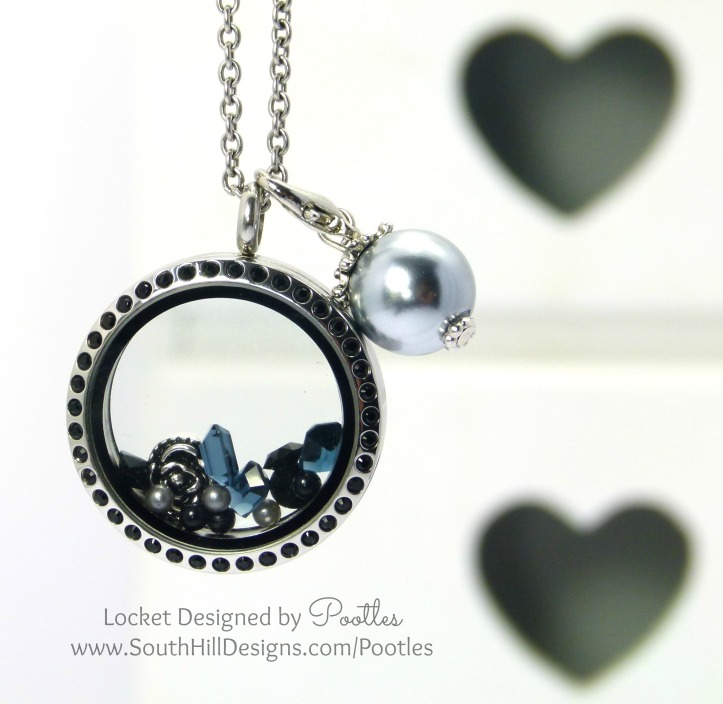 South Hill Designs - Black and Silver and a smattering of Pewter