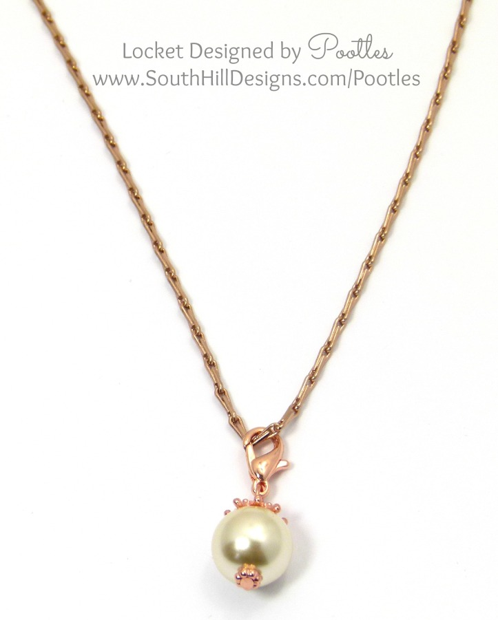 South Hill Designs - Droplets in Action Single Rose Gold Droplet