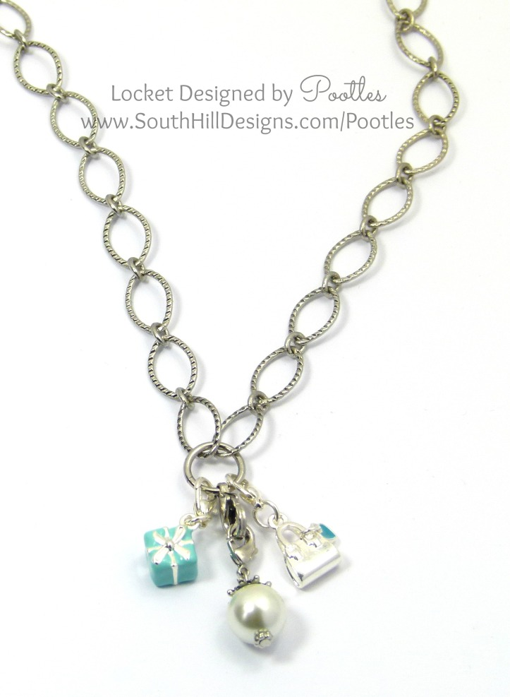 South Hill Designs - Droplets in Action Tiffany Blue