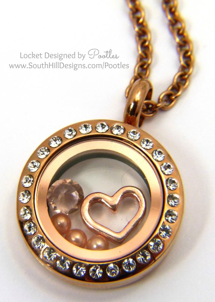 South Hill Designs - Mini Rose Gold Prettiness Close Up