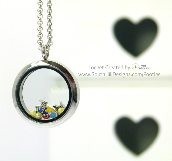 Pootles, Independent Artist - South Hill Designs - Autism Awareness