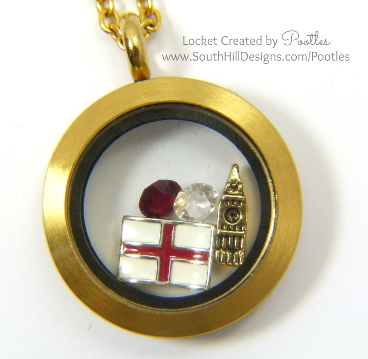 Pootles South Hill Designs - London Calling Close Up
