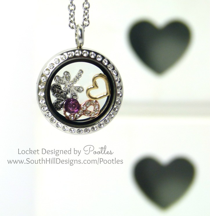 Pootles' South Hill Designs - Medium Crystal Summer Days