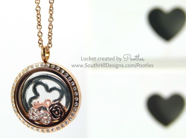 Pootles South Hill Designs - Rose Gold Shamrock Loves