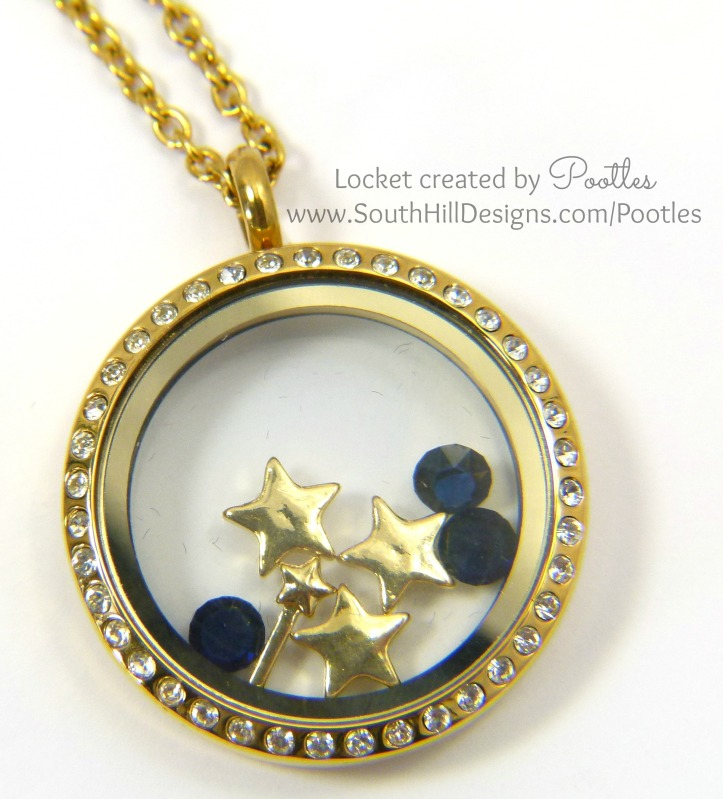 Pootles South Hill Designs - Shooting Stars at Midnight Close Up