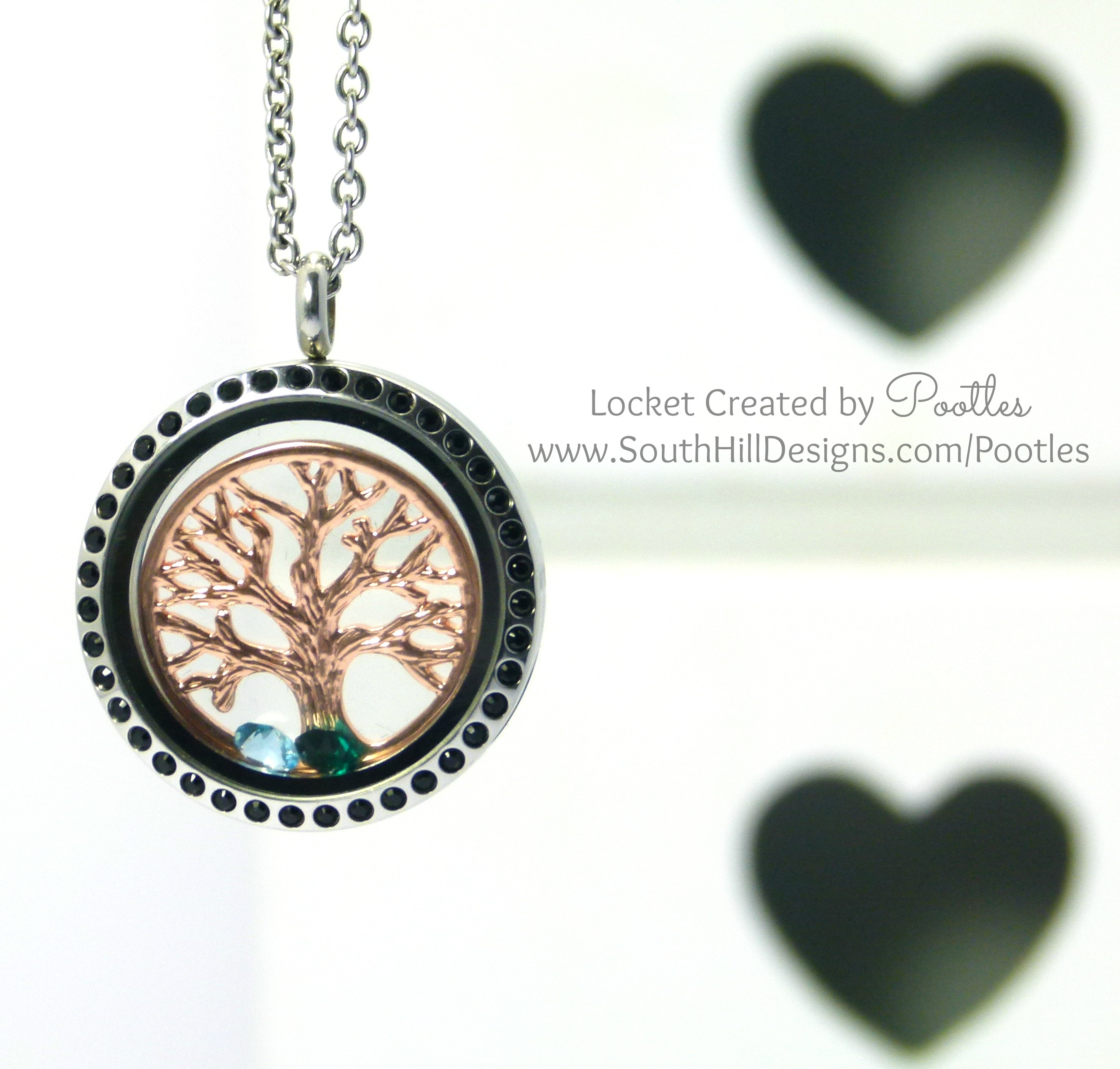 limetreedesign locket by lime necklace lockets gold vintage design product tree heart original