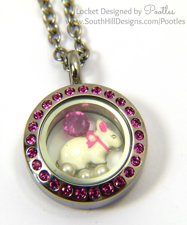 South Hill Designs with Pootles - New Baby Pink Bunny! Close Up