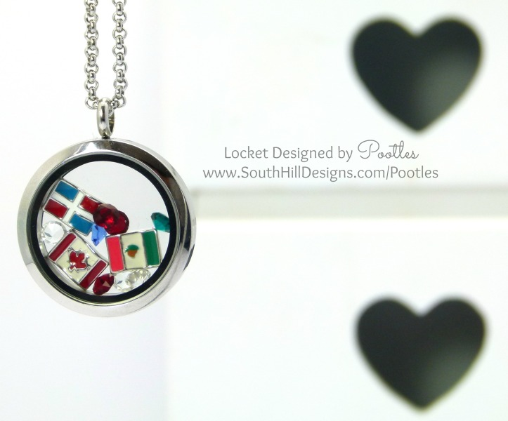 South Hill & Stampin Up on Sunday Congratulations & Hello Mexico, Dominican Republic & Quebec Locket