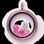 Pootles South Hill Design Breast Cancer Awareness Pre Design Locket