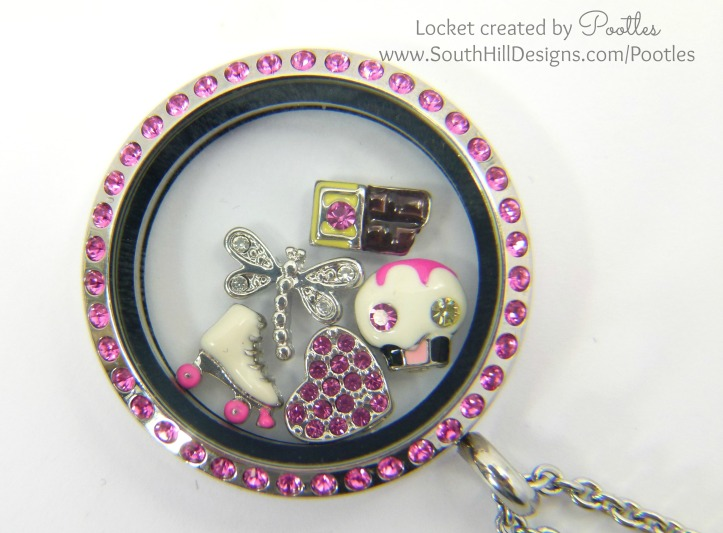 Pootles South Hill Designs - Girls Just Wanna Have Fun! Close Up