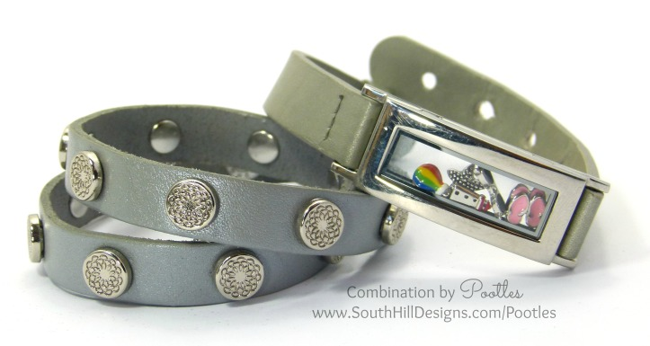 Pootles South Hill Designs - Locket Bracelets & Wraps