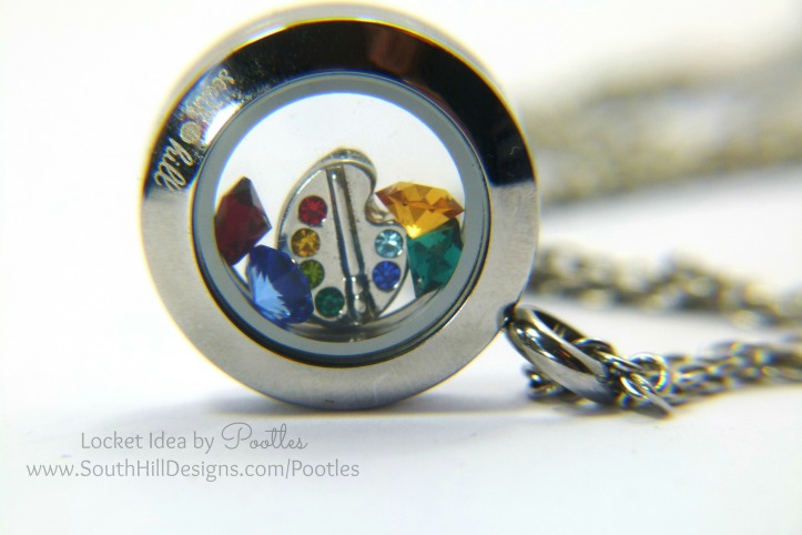 Pootles South Hill Designs - Mini Rainbows of Art