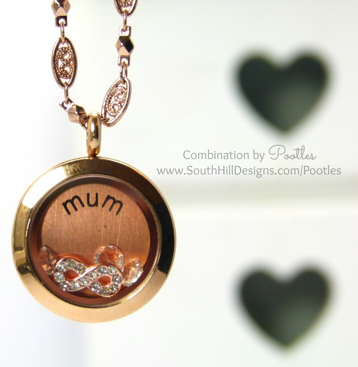 Pootles South Hill Designs - Rose Gold for Mum, with a new chain!