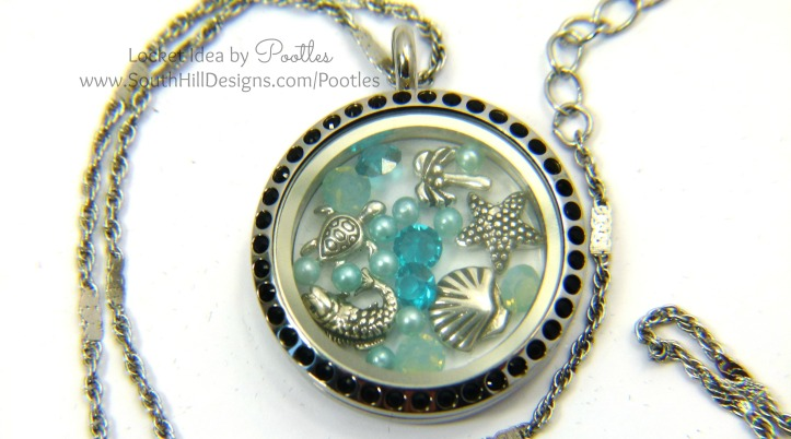 Pootles South Hill Designs - Seascape and Escapes close up