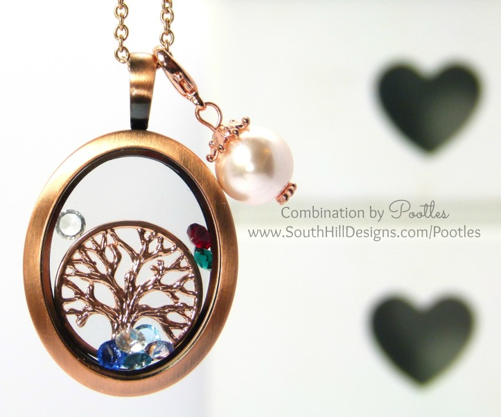 Pootles South Hill Designs - The Nanna Grandma Locket