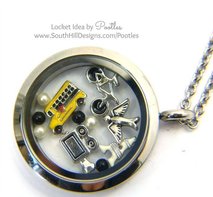 South Hill Designs - Custom Locket Design close up