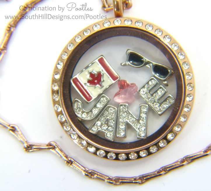 South Hill Designs - Personalised Lockets! close up