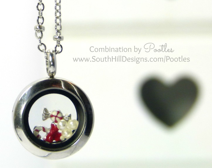 Pootles South Hill Designs - Mini Locket Showcase Christmas Goodies