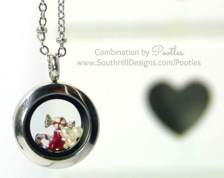 Pootles South Hill Designs - Mini Locket Showcase Christmas Goodies