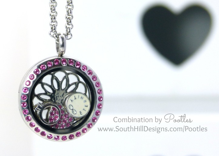 Pootles South Hill Designs - Pink and Love for Eternity