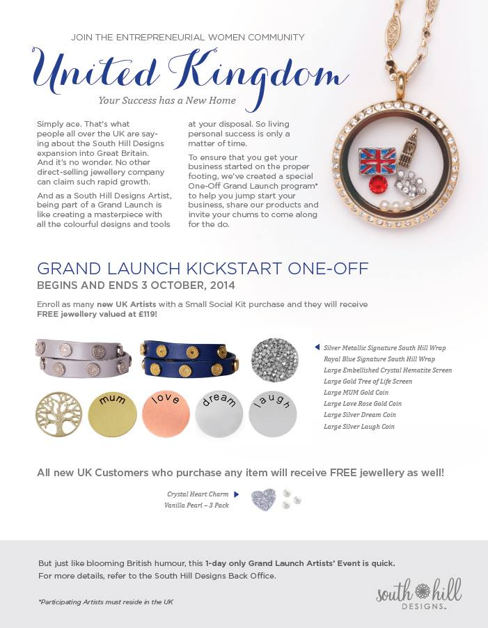 UK One day launch