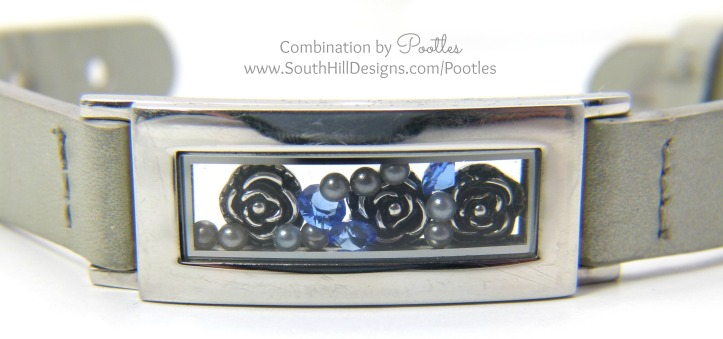 Pootles South Hill Designs - Locket Bracelet Showcase Silver