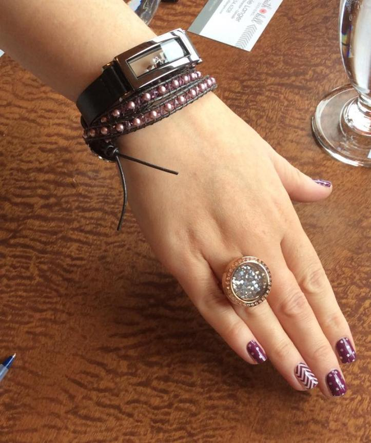 south hill designs locket ring with crystal wrap