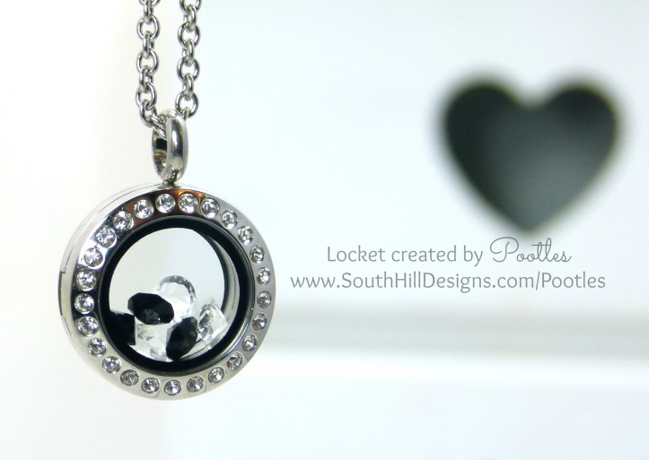 South Hill Designs - Saturday Showcase - Mini Silver Crystals...