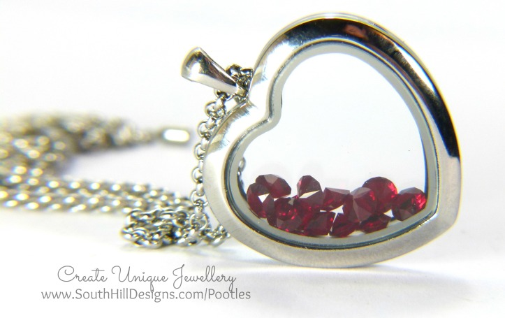 South Hill Designs - a Dozen Red.... Birthstones