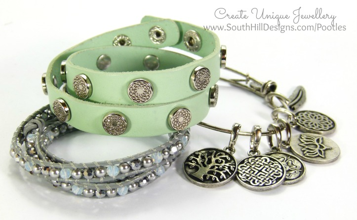 South Hill Designs - New Mint Wrap, Crystal Wrap, Bangle (1)