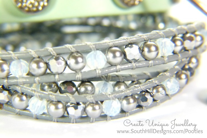South Hill Designs - New Mint Wraps and More! Crystal Wrap Detail